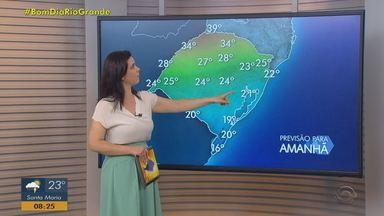 RS segue com instabilidade e alerta para temporais nesta sexta-feira (2) - Assista ao vídeo.