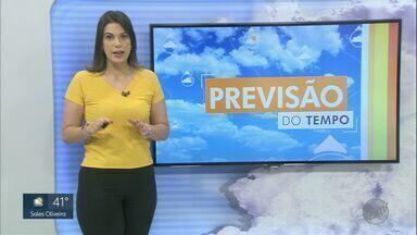 Veja a previsão do tempo para esta quinta-feira (1º) na região de Ribeirão Preto, SP - Volume de chuva esperado para o mês de outubro é de 138 milímetros.