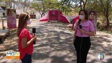 Campanha Outubro Rosa conscientiza sobre a prevenção ao câncer de mama - Este é o tipo de câncer que mais acomete as mulheres no Brasil.