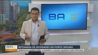Prefeitura de Porto Seguro permite funcionamento de parques aquáticos e outros tópicos - Nesta quinta-feira (1º), novo decreto foi publicado com relação à retomada de atividades comerciais na cidade.