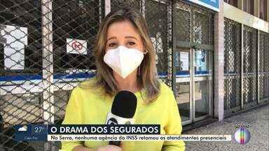 Na Serra, nenhuma agência do INSS retomou os atendimentos presenciais - O atendimento em toda a Região Serrana está sendo feito através do aplicativo Meu INSS ou por telefone no número 135.