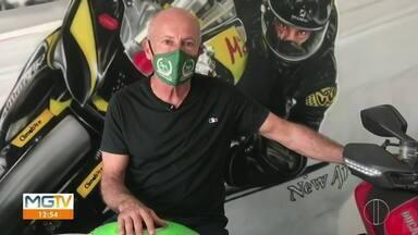 Dia do Idoso: conheça a história de um motociclista sessentão - Veja o vídeo.