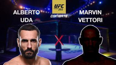 UFC 202 - Alberto Uda x Marvin Vettori - Luta entre Alberto Uda (BR) x Marvin Vettori (IT), válida pelo UFC 202 - Peso Médio, em 20/08/2016.