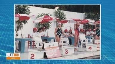 Reportagem relembra trajetória da nadadora Érika Torralbo Gimenez - Atleta da Baixada Santista foi campeã brasileira infantil nos 800 metros com o tempo de 9 minutos, 9 segundos e 78 centésimos.