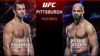 UFC Rockhold x Branch - Luke Rockhold x David Branch - Luta entre Luke Rockhold x David Branch, válida pelo UFC Rockhold x Branch - em 16/09/2017.
