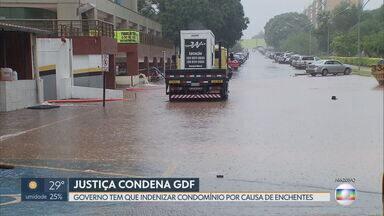 Governo terá que indenizar condomínio da Asa Norte - Em decisão inédita, o Tribunal de Justiça condenou o GDF a indenizar um condomínio pelos danos causados pelas frequentes enchentes no local.