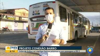 Linha de ônibus vai interligar bairros com passagem mais barata, em João Pessoa - Confira outras mudanças no transporte público de João Pessoa