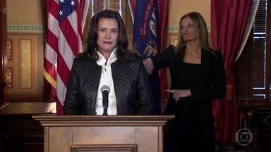 FBI prende integrantes de milícia que queriam sequestrar governadora do Michigan - Gretchen Whitmer é uma opositora ferrenha de Trump. O plano da milícia extremista era 'libertar' estados como o Michigan de governos que a milícia acredita estarem violando a constituição americana.