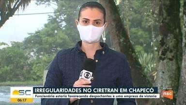 Funcionária do Ciretran é investigada por irregularidades em Chapecó - Funcionária do Ciretran é investigada por irregularidades em Chapecó