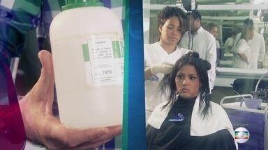Projeto Educação: saiba como a química afeta o cabelo - Professor aponta que certos produtos prejudicam a saúde.