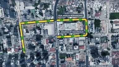 Ruas passam por mudanças em Boa Viagem, na Zona Sul do Recife - Trânsito é alterado a partir do sábado (10).