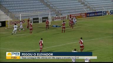 Confira os gols da vitória do Treze sobre o Imperatriz fora de casa - Galo da Borborema emplaca a terceira vitória seguida na Série C e cola no G-4 do Grupo A