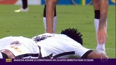 Mancini assume o Corinthians no Z4 após derrota para o Ceará - Mancini assume o Corinthians no Z4 após derrota para o Ceará
