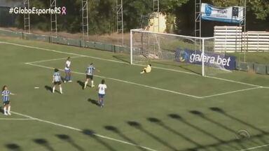 Grêmio empatou em 1 a 1 com o São José-SP e pode garantir vaga na próxima rodada - Veja o gol do time Tricolor.
