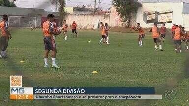 Uberaba Sport apresenta elenco para Segunda Divisão do Mineiro - Elenco começa a se preparar para o campeonato, que tem início em novembro.