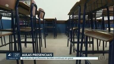 Sindicatos de professores do Rio decidem continuar em greve - Tanto o SEPE, quanto o SINPRO-RIO, decidiram manter a greve para resguardar a saúde da categoria, dos alunos e da população em geral.