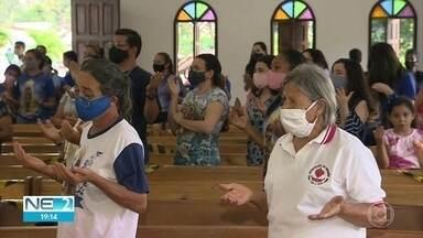 Fiéis celebram Nossa Senhora Aparecida no Recife e no Cabo de Santo Agostinho - Homenagens foram realizadas no dia da padroeira do Brasil.
