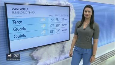 Confira a previsão do tempo para esta semana no Sul de MG - Confira a previsão do tempo para esta semana no Sul de MG