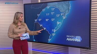 Nesta terça (13) pode chover na Serra, no Litoral Norte e no Extremo Sul do RS - Tempo segue ameno nas demais regiões do estado.