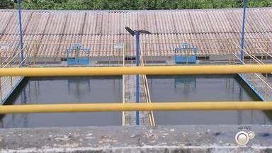 Mirassol adota racionamento de água por causa da baixa no nível de captação - Mirassol adota racionamento de água por causa da baixa no nível de captação.