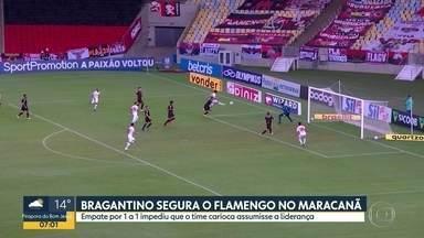 Bragantino empata com o Flamengo no Campeonato Brasileiro - Destaque foi o golaço do Claudinho.