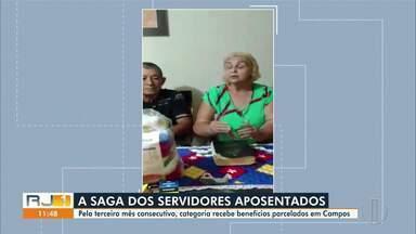 Pelo terceiro mês consecutivo, aposentados recebem os benefícios parcelados em Campos - Categoria recebeu 60% dos benefícios nesta quinta-feira (15).