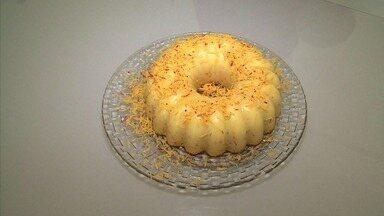 Aprenda como preparar a queijadona, receita tradicional do Nordeste - Prato é uma releitura da queijadinha de coco.