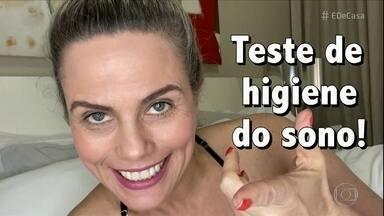 Confira o teste de higiene do sono - Maria Cândida fez um teste para saber o que está atrapalhando a rotina do sono.