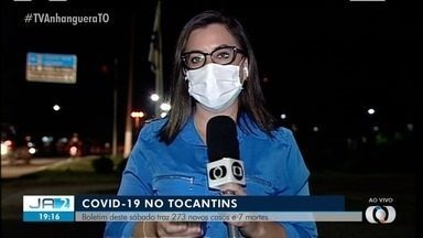 Tocantins registra 273 novos casos e 7 mortes pela Covid-19' - Tocantins registra 273 novos casos e 7 mortes pela Covid-19