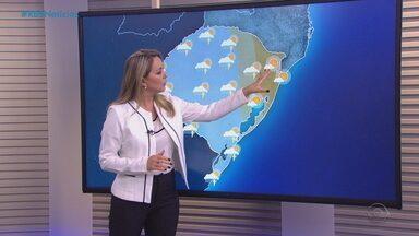 Domingo (18) pode ter pancadas isoladas de chuva em boa parte do RS - Rajadas de variam de moderada à forte intensidade em todo estado, mas especialmente no Litoral Norte.