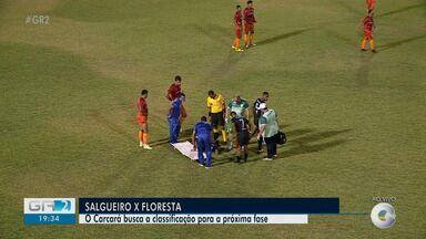 Salgueiro e Floresta-CE se enfrentam pela Série D do Brasileiro - A partida é válida pela 7ª rodada da competição