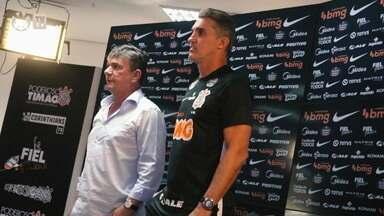 """Com desconfiança e vitória na estreia, Mancini assume o Corinthians com missão de retomar """"marca"""" - Com desconfiança e vitória na estreia, Mancini assume o Corinthians com missão de retomar """"marca"""""""