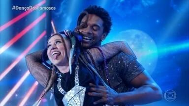Guta Stresser dança 'Coração Bobo' com Macus Lobo - Guta Stresser se apresenta no 'Dança dos Famosos'