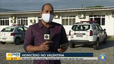 Homem é morto dentro de casa, no bairro do Valentina, em João Pessoa - Crime aconteceu nessa segunda-feira (19)