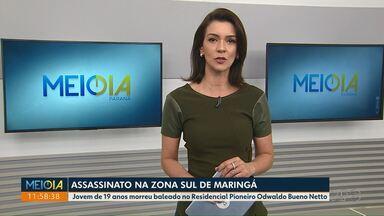 Jovem é assassinado na zona sul de Maringá - Vítima teve a casa invadida por um atirador.