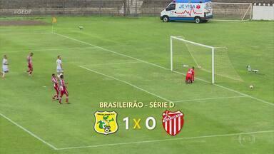 Brasiliense bate o Villa Nova e assume vice-liderança do Grupo 6 da Série D - Brasiliense bate o Villa Nova e assume vice-liderança do Grupo 6 da Série D