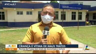Criança de 9 anos vítima de maus tratos é resgatada em Maracanã, nordeste do Pará - Criança de 9 anos vítima de maus tratos é resgatada em Maracanã, nordeste do Pará