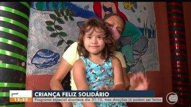 Criança Feliz Solidário acontece no dia 31 de outubro, mas doações já podem ser feitas - Criança Feliz Solidário acontece no dia 31 de outubro, mas doações já podem ser feitas