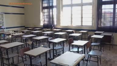 Volta às aulas tem escolas fechadas devido à falta de EPIs na Região Sul do RS - Assista ao vídeo.