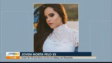 Jovem é preso suspeito de matar ex-namorada, em Boqueirão, na PB - Vítima tinha 18 anos e foi morta com um tiro na cabeça.