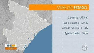 Casos da Covid-19 em Sergipe voltam a crescer - Casos da Covid-19 em Sergipe voltam a crescer.