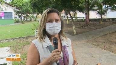 Em Manaus, unidade móvel auxilia no atendimento de mulheres vítimas de violência - Unidade móvel foi entregue nesta segunda.