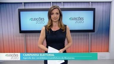 Eleições 2020: Acompanhe a agenda dos candidatos à prefeitura de Blumenau neste dia 20 - Eleições 2020: Acompanhe a agenda dos candidatos à prefeitura de Blumenau neste dia 20
