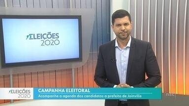 Agenda dos candidatos a prefeito de Joinville - Agenda dos candidatos a prefeito de Joinville