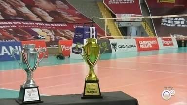 Sesi-Bauru e Osasco decidem título do Paulista de vôlei feminino - Confira a expectativa pela grande final do estadual que acontece nesta terça-feira à noite no ginásio Panela de Pressão em Bauru. Osasco venceu o primeiro jogo e o time bauruense precisa vencer a partida para provocar a decisão no golden set.