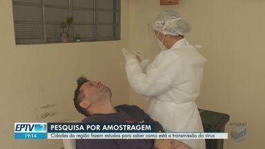 Cidades da região de Ribeirão estudam como está a transmissão do coronavírus - A USP coordena um estudo chamado inquérito sorológico. Nesta semana, moradores de Sertãozinho começaram a ser testados.