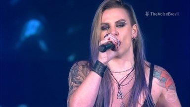 """Angel Sberse canta """"Welcome To The Jungle"""" - undefined"""