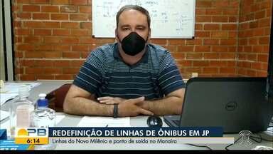 Semob redenife linhas de ônibus em João Pessoa - Linhas do Novo Milênio e ponto de saída no Manaíra estão em redefinição