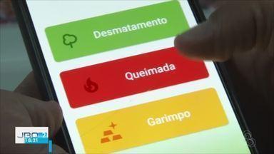 Guardiões da Amazônia: app facilitou denúncias de incêndio - Em Ji-Paraná são quase 300 denuncias que resultaram em advertências e processos.