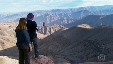 Rituais fazem parte de trilha de aventura no deserto peruano - Para chegar a Cerro Blanco, considerado um lugar místico, além de precisar de muita disposição, nossa equipe participou de rituais.